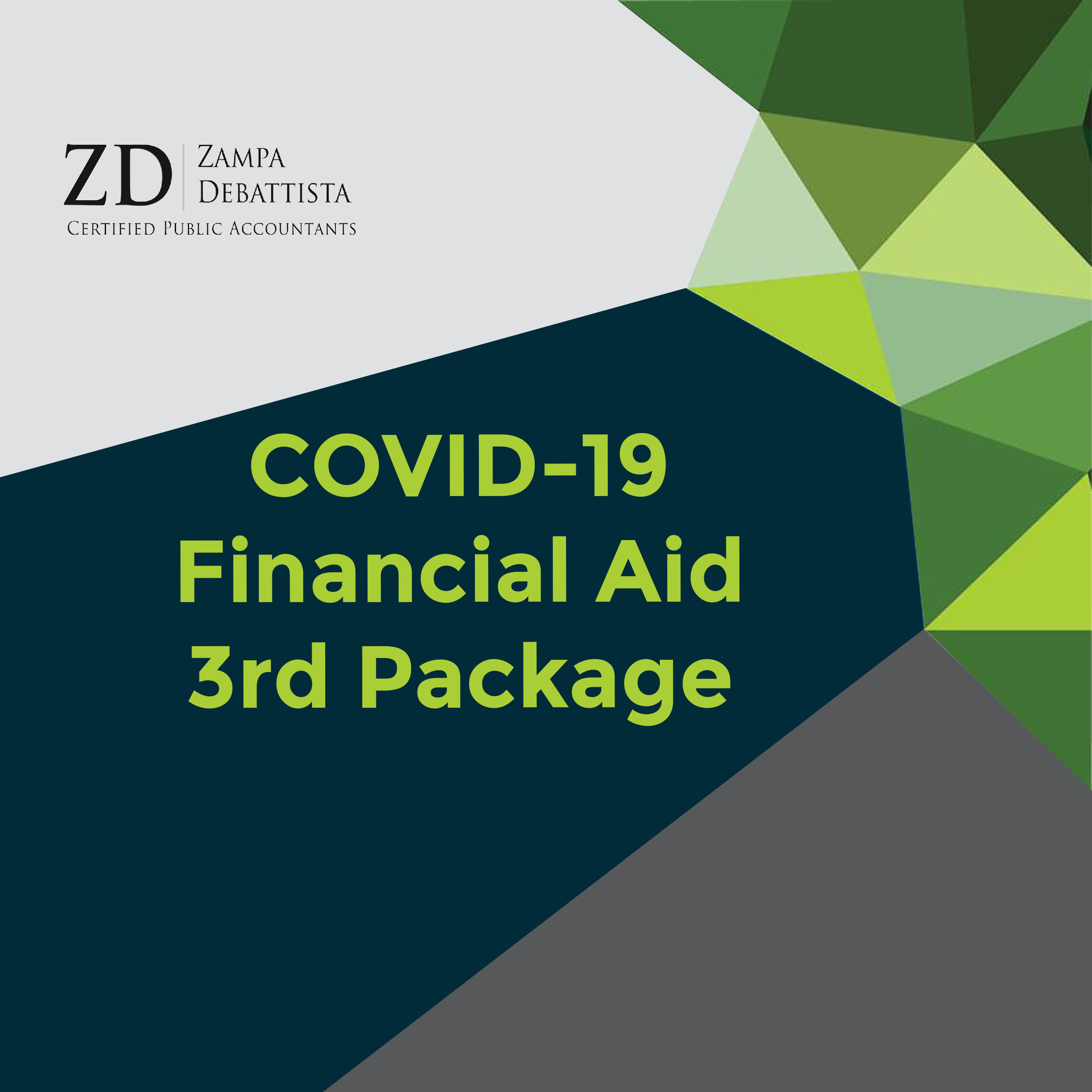 COVID-19 – Financial Aid – 3rd Package