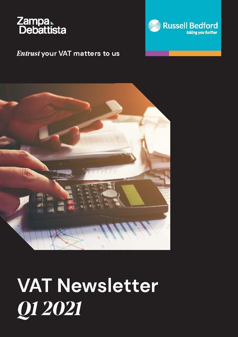 VAT Newsletter Q.1 – 2021